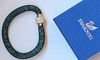Браслет женский Swarovski Solo бирюзовый, цена браслет