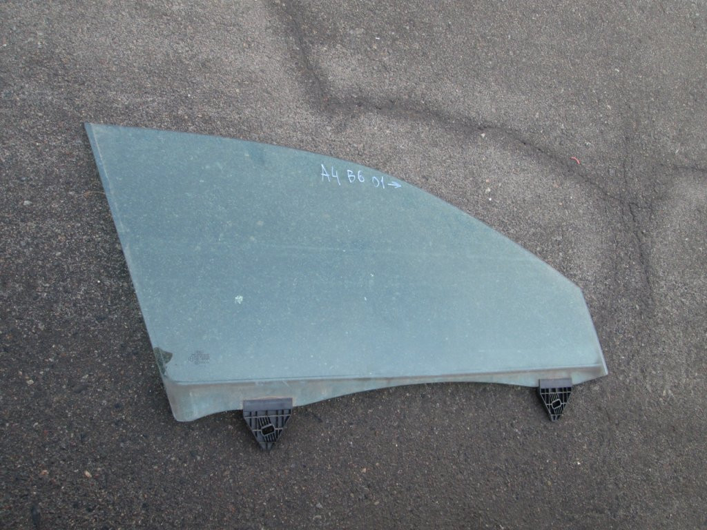 Стекло двери переднее правое Audi A4 B6 B7 01-08