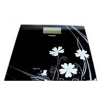 Весы напольные электронные Tiross TS-820 Черные , весы для дома