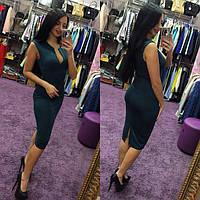 Платье женское Виктория зеленое , платья интернет магазин