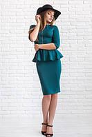 Костюм женский Джессика зеленый юбка и кофта , женская одежда
