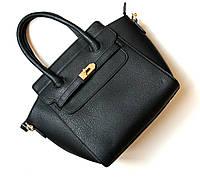 Женская сумка Hermes черная, сумка через плечо