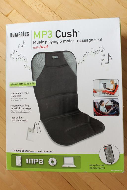 Массажная накидка на сиденье авто или кресло