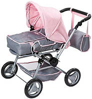 Коляска для куклы Baby Born  3 в 1  ДЕЛЮКС Zapf Creation 821343