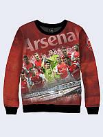 Модный женский свитшот Arsenal team с ярким 3D-принтом.