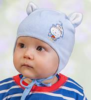 Головной убор для малышей Шапочка Белая Осень 42-44 см 3-002222 Tutu Польша
