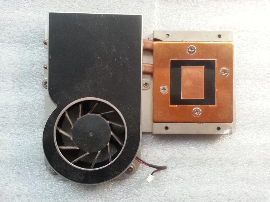 Система охлаждения, Радиатор к ноутбуку MSI m660