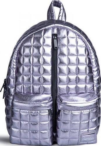 Ультрамодный городской рюкзак 10 л. Fusion Silver Bar, cеребристый