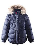 Зимняя куртка - пуховик для девочек Reima 531230. Размер 122 - 152.