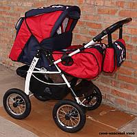 Детская коляска-трансформер Anmar Rosse Golden pompa