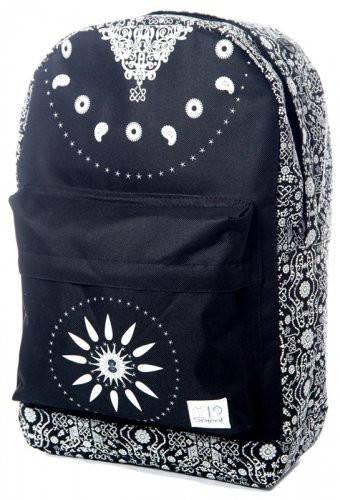 Привлекательный рюкзак 18 л. OG Spiral 1026 черно-белый