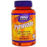 Витамины и минералы Now Foods Calcium Pyruvate 1200 mg 100 caps