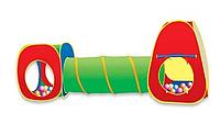 Детская палатка тоннель с переходом 5538-13 р. 275-79-95 cм.
