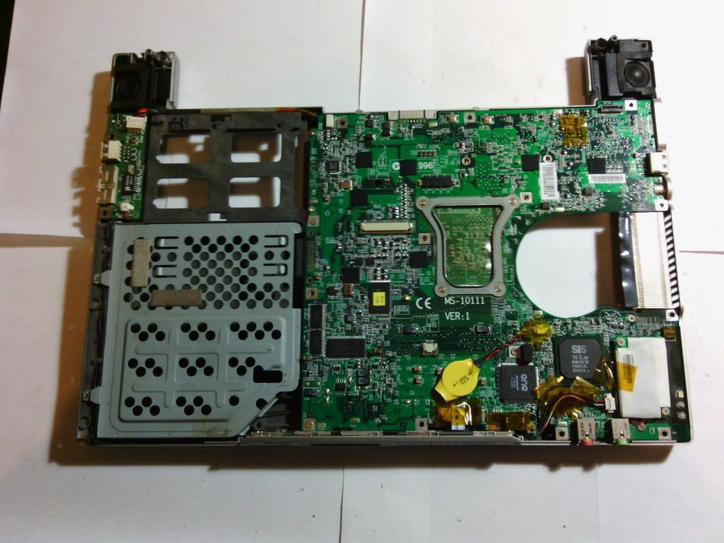 * Запчасти, комплектующие для ноутбука MSI m 630