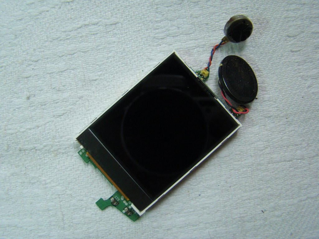 Samsung X660 дисплей