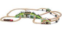 Детская железная дорога Melissa & Doug - Горный туннель