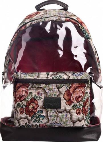 Винтажный городской рюкзак 20 л. Fusion Floral, разные цвета