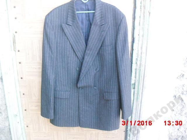 Пиджак шерстяной Saks