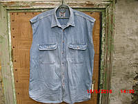 Рубашка джинсовая Jeanious (безрукавка)