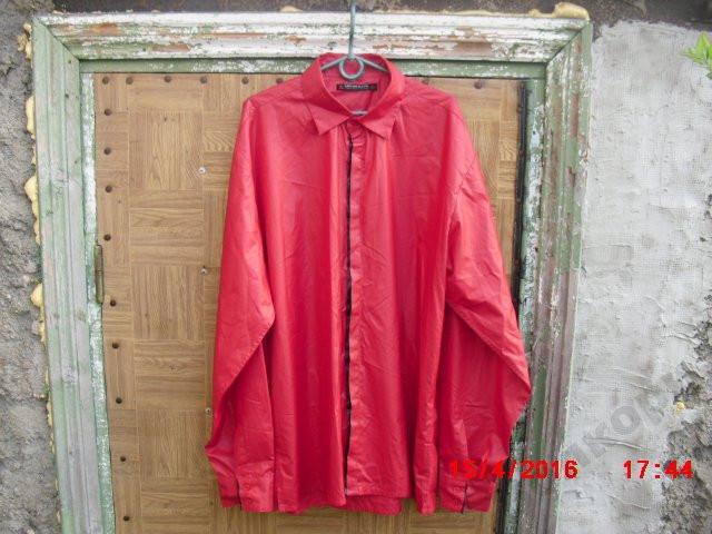Рубашка стильная  Icono  Red/Black  XXL