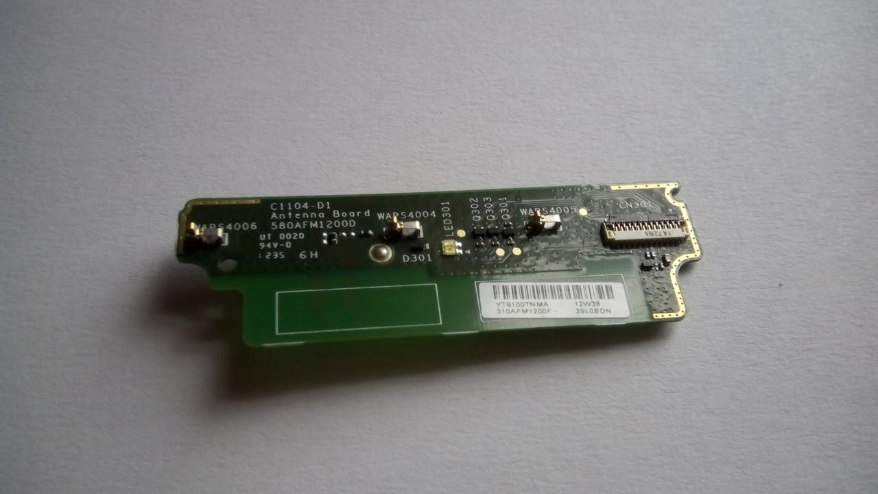 Плата микрофон антенна светоди Sony ST23i Оригинал