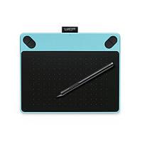 Планшет графический Wacom intuos Draw Blue Pen S