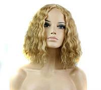 Парик средняя длина блонд наличие качество