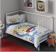 Комплект постельного белья для детской кроватки ТAC Disney - Sponge Bob Baby