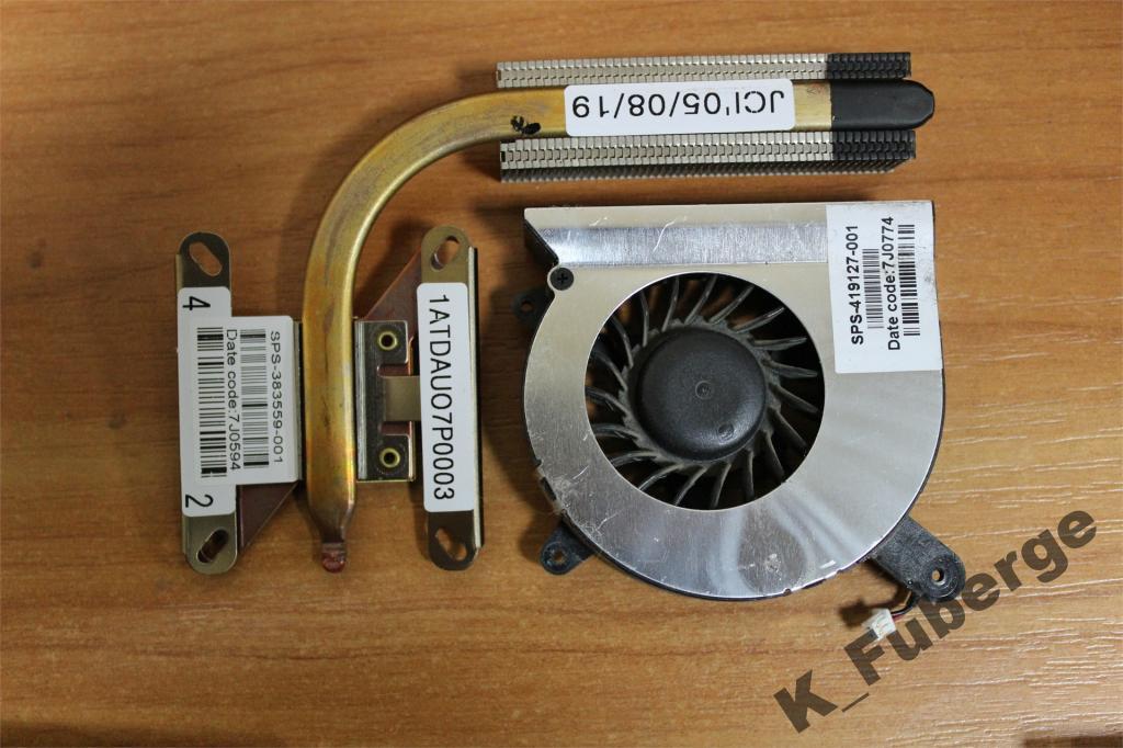 Система охлаждения HP Compaq nc4400 nc4200 #1