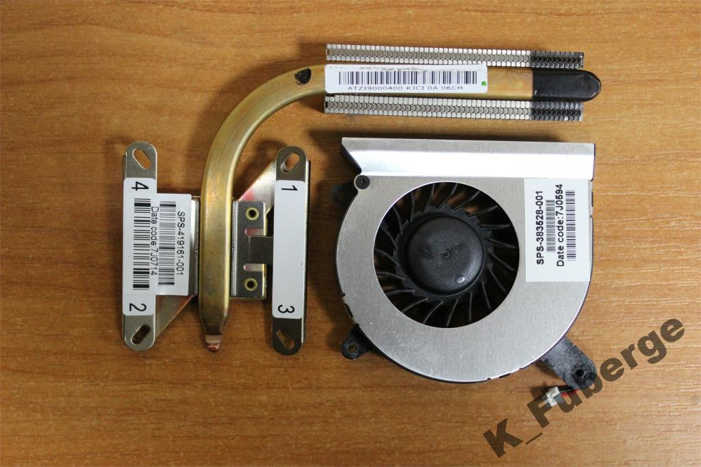 Система охлаждения HP Compaq nc4400 nc4200 #2