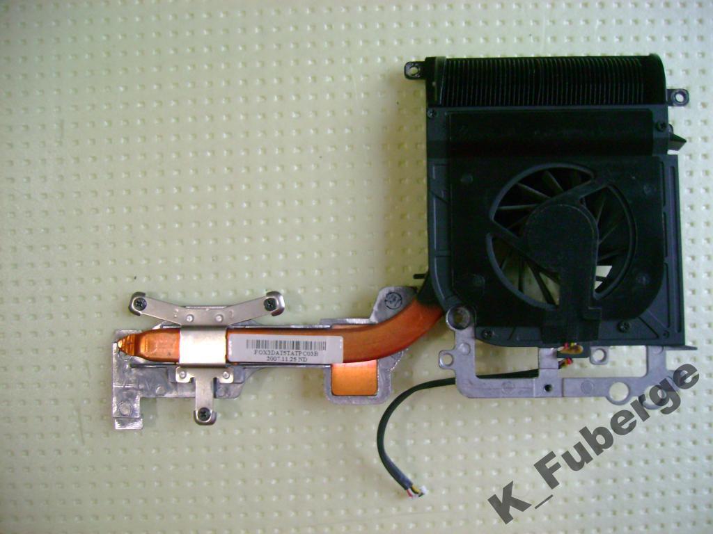 Полная система охлаждения HP Pavilion dv9700