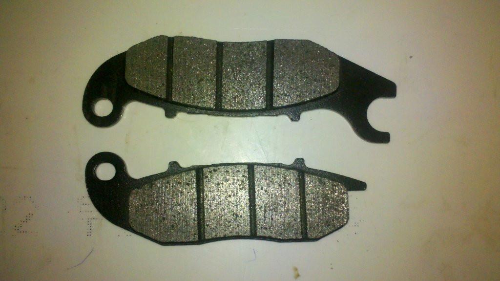 Тормозные колодки дисковые на китайский скутер