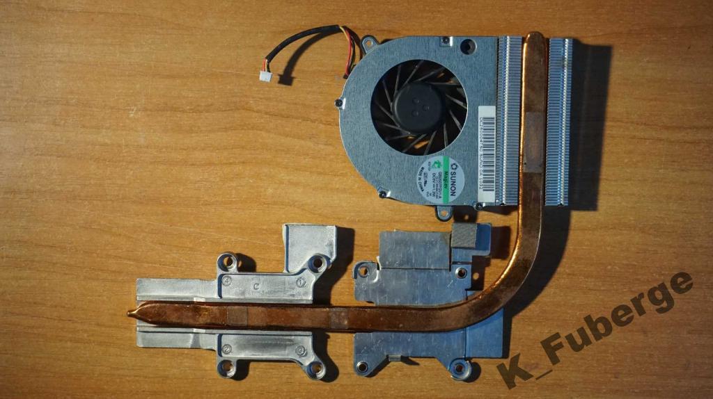 Система охлаждения Toshiba L550 L555 L550D L555D