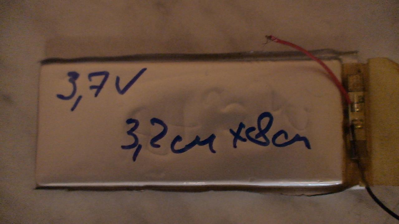 Акб планшета или телефона 8см Х 3см с платой заряд