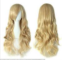 Парик длинный волос блонд наличие качество