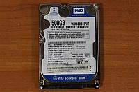 Жесткий диск 2,5 Sata WD 500 GB нерабочий #87