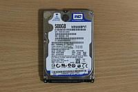 Жесткий диск 2,5 Sata WD 500 GB нерабочий #80