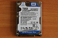 Жесткий диск 2,5 Sata WD 750GB нерабочий #123