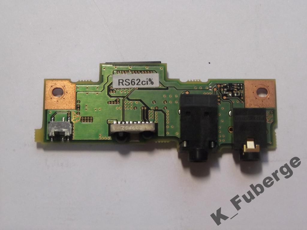 Плата аудио Fujitsu Siemens E8020D