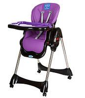 Стульчик для кормления Bambi M 3216-9 (фиолетовый)