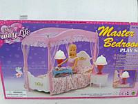 Детская комната для барби спальня кровать