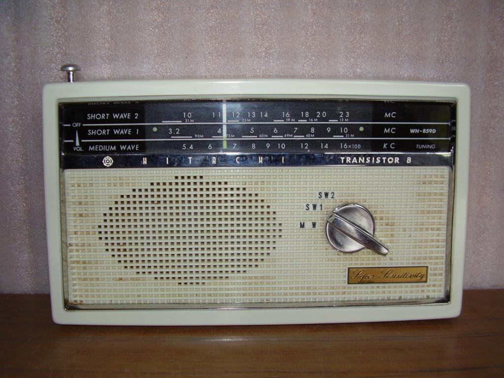 Японский радиоприемник Hitachi WH-859D (1959 г.)