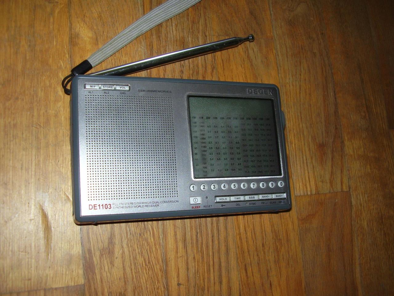 Радиоприемник Degen DE1103