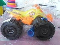 Квадроцикл машинка  конструктор с отверткой