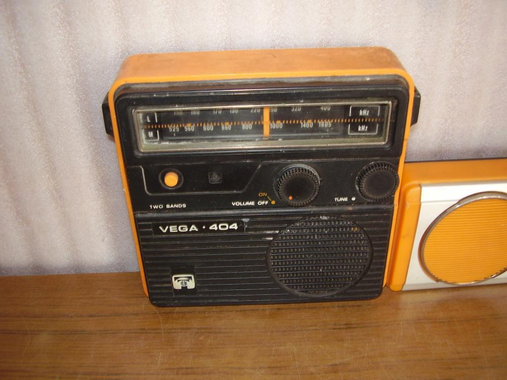 Транзисторные радиоприемники Вега (3 шт.)