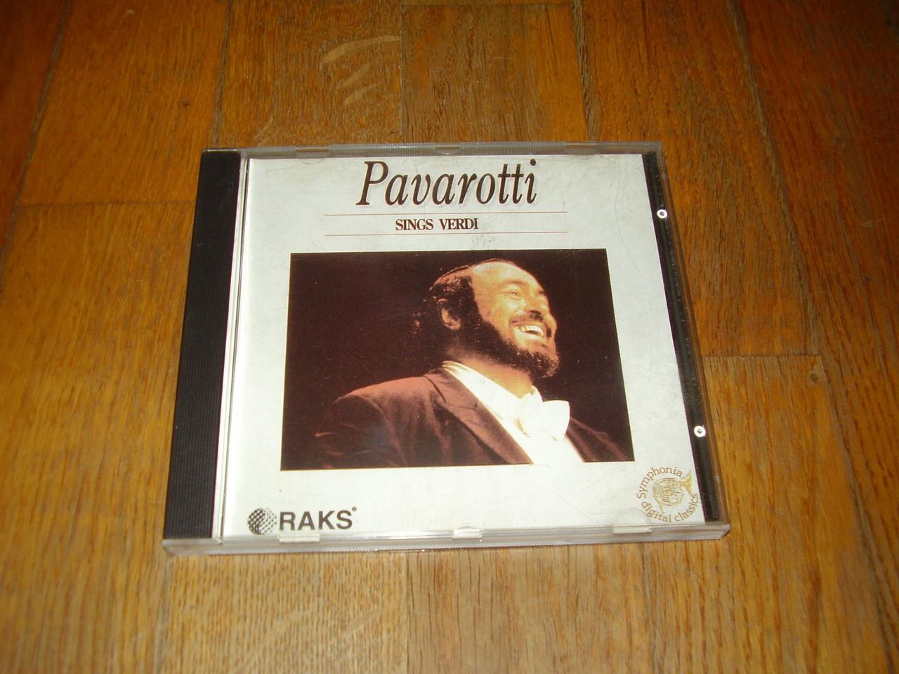 Pavarotti sings Verdi-Исландия