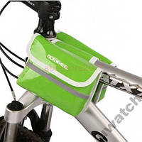 ROSWHEEL Велосипедная Велосумка на Раму КОЖЗАМ
