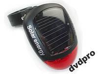 Велосипедный задний фонарь с солнечной зарядкой