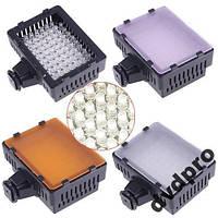Диодный накамерный свет CN 76 LED для фото и видео