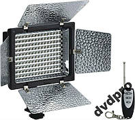 Студийный накамерный свет KY-010 160 LED пульт ДУ